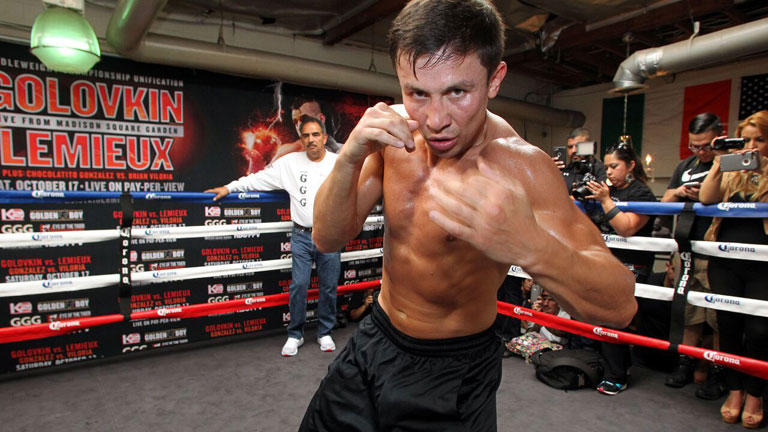 golovkin training