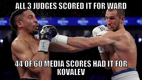 Kovalev Ward Controversy
